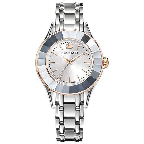 Swarovski Alegria Watch, Metal Bracelet, White, Silver Tone