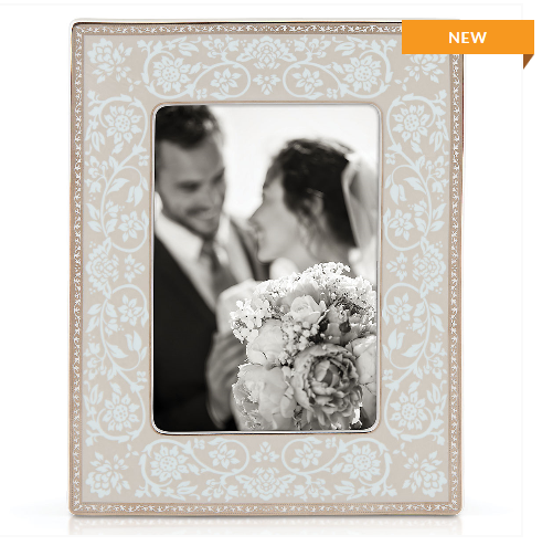 Lenox 5 x 7 in. Westmore Porcelain Photo Frame 871657