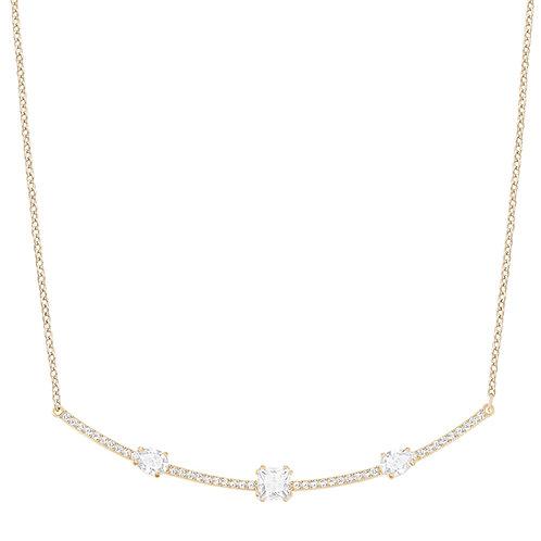 Swarovski Gray Necklace, White