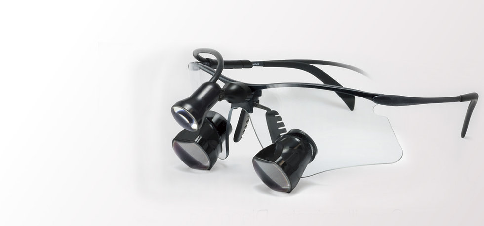 Loupes binoculaires + éclairage LED