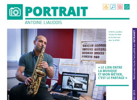 Tonio is Kenan dans l'Avant Seine de février 2019 - Portrait