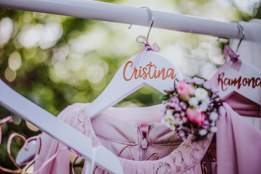 Kleiderbügel für Hochzeit, Trauzeugin