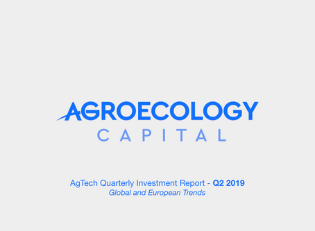 Global AgTech Investment Report 2019-Q2