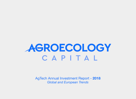 Global AgTech Investment Report 2018