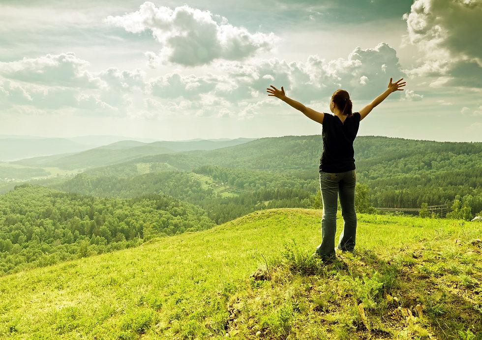 Young woman enjoying the fresh air..jpg