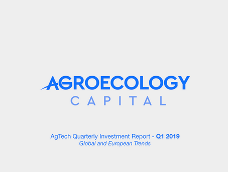 Global AgTech Investment Report 2019-Q1