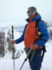 Vincent Giraud moniteur de ski hors-piste