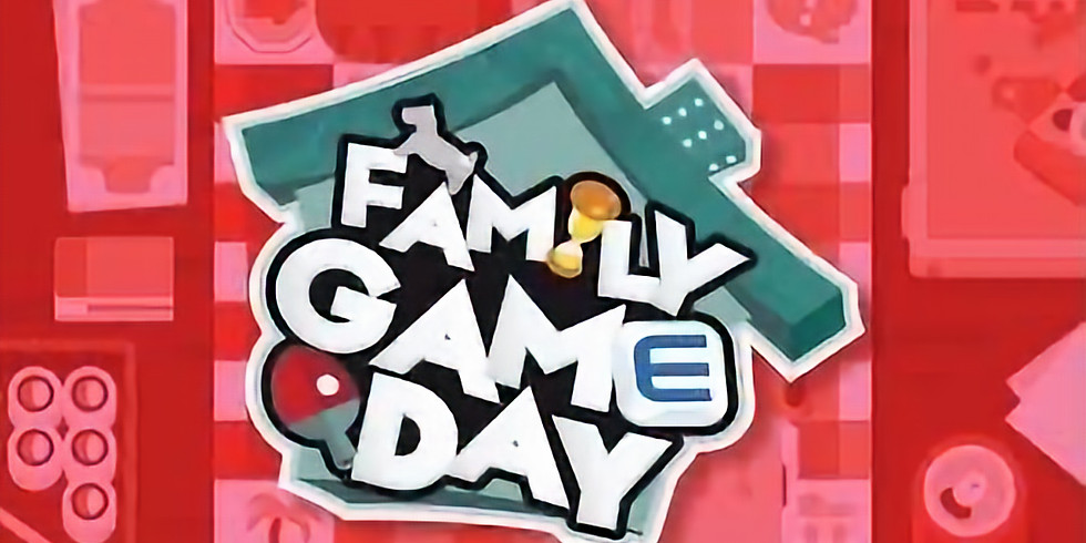 Snack Pack & Family Game Day!