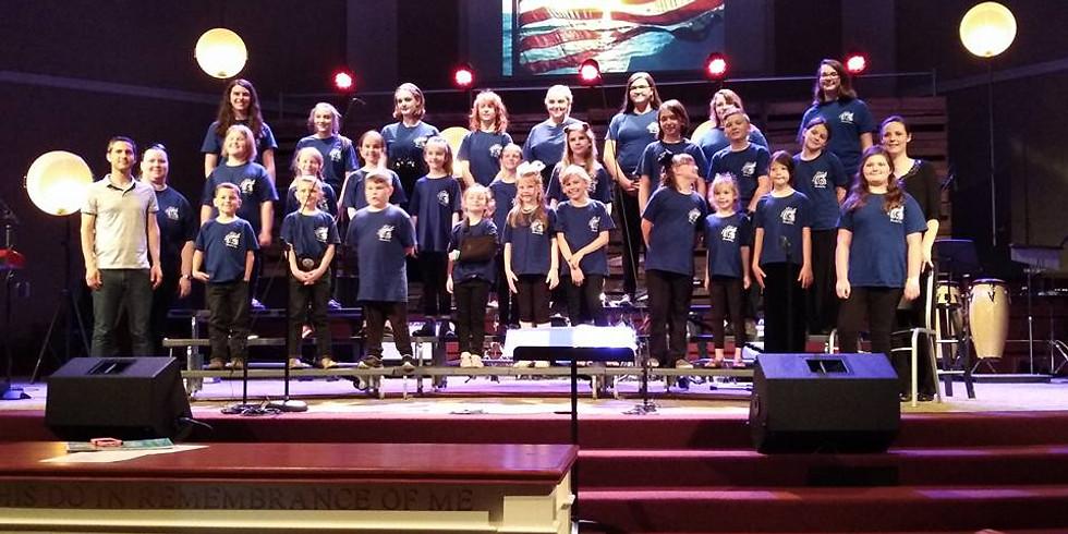 General K12 Choir: Rehearsal and OPEN ENROLLMENT