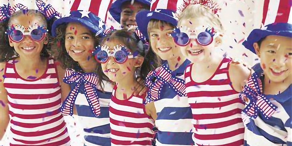 America the Beautiful: Mini Camp for ages 4-7 (ish)