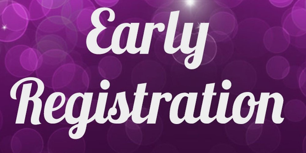 Early registration opens for current members.
