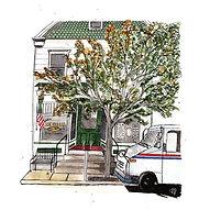 Urban Sketch: Lititz Isabella's