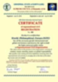 suprantional civil organization registra