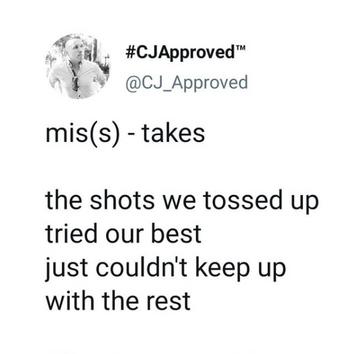 mis(s) - takes