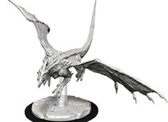 Dungeons & Dragons Nolzur`s Marvelous Unpainted Miniatures: Young White Dragon