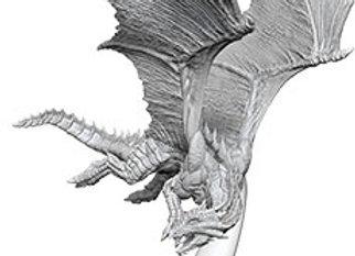 Dungeons & Dragons Nolzur`s Marvelous Unpainted Miniatures: Young Bronze Dragon