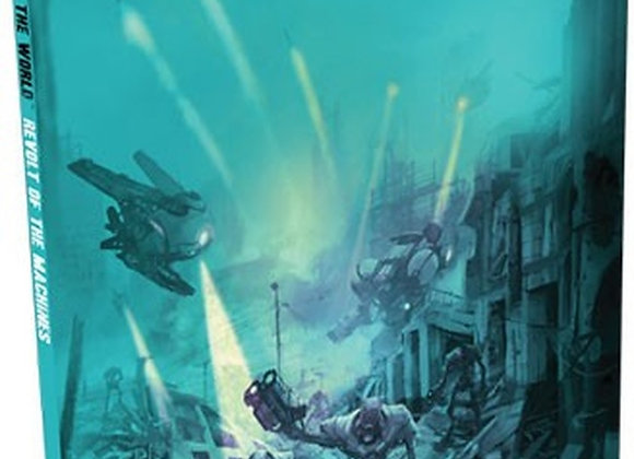 The End of the World RPG: Revolt of the Machines Hardcover