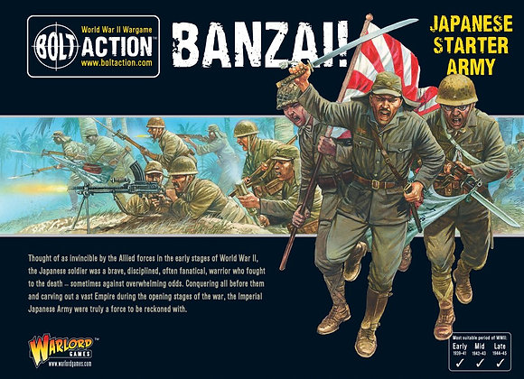 Banzai! Imperial Japanese Starter Army