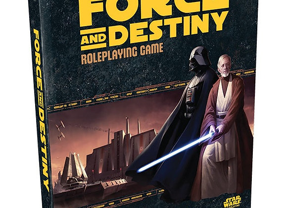 Star Wars RPG: Force and Destiny - Core Rulebook Hardcover