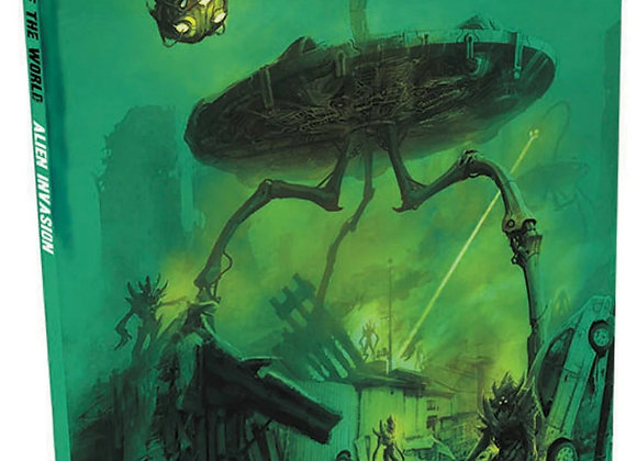 The End of the World RPG: Alien Invasion Hardcover