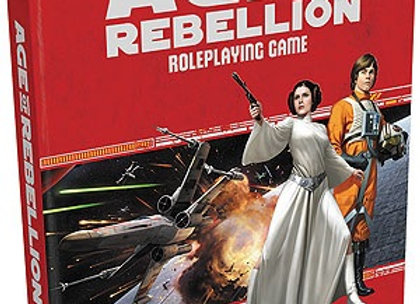 Star Wars RPG: Age of Rebellion - Core Rulebook Hardcover