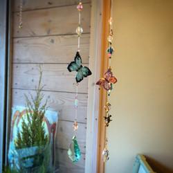 蝶々のサンキャッチャー