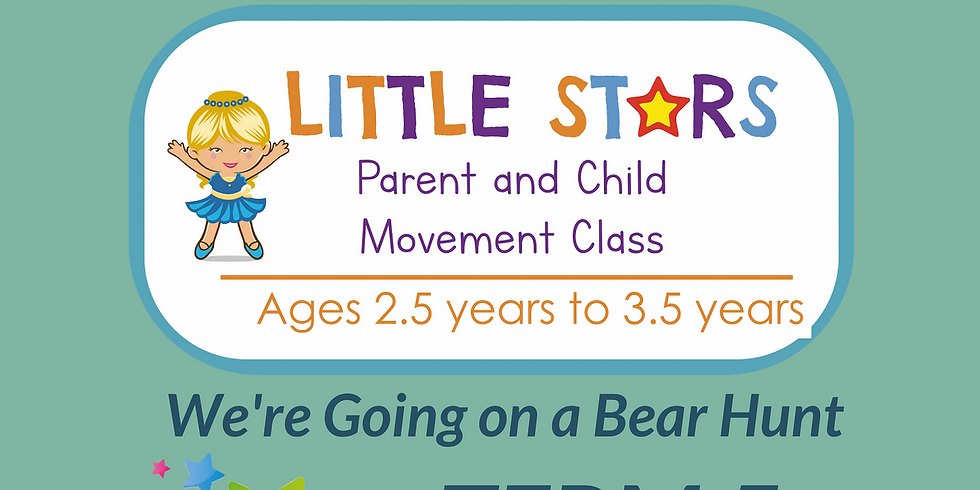 9:50am Parent & Child (2.5 YEARS to 3.5 YEARS): 1 Class 27th May