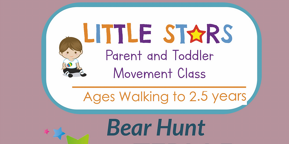 1:30pm Parent & Toddler (Walking to 2.5 YEARS): 1 Class 25th May.