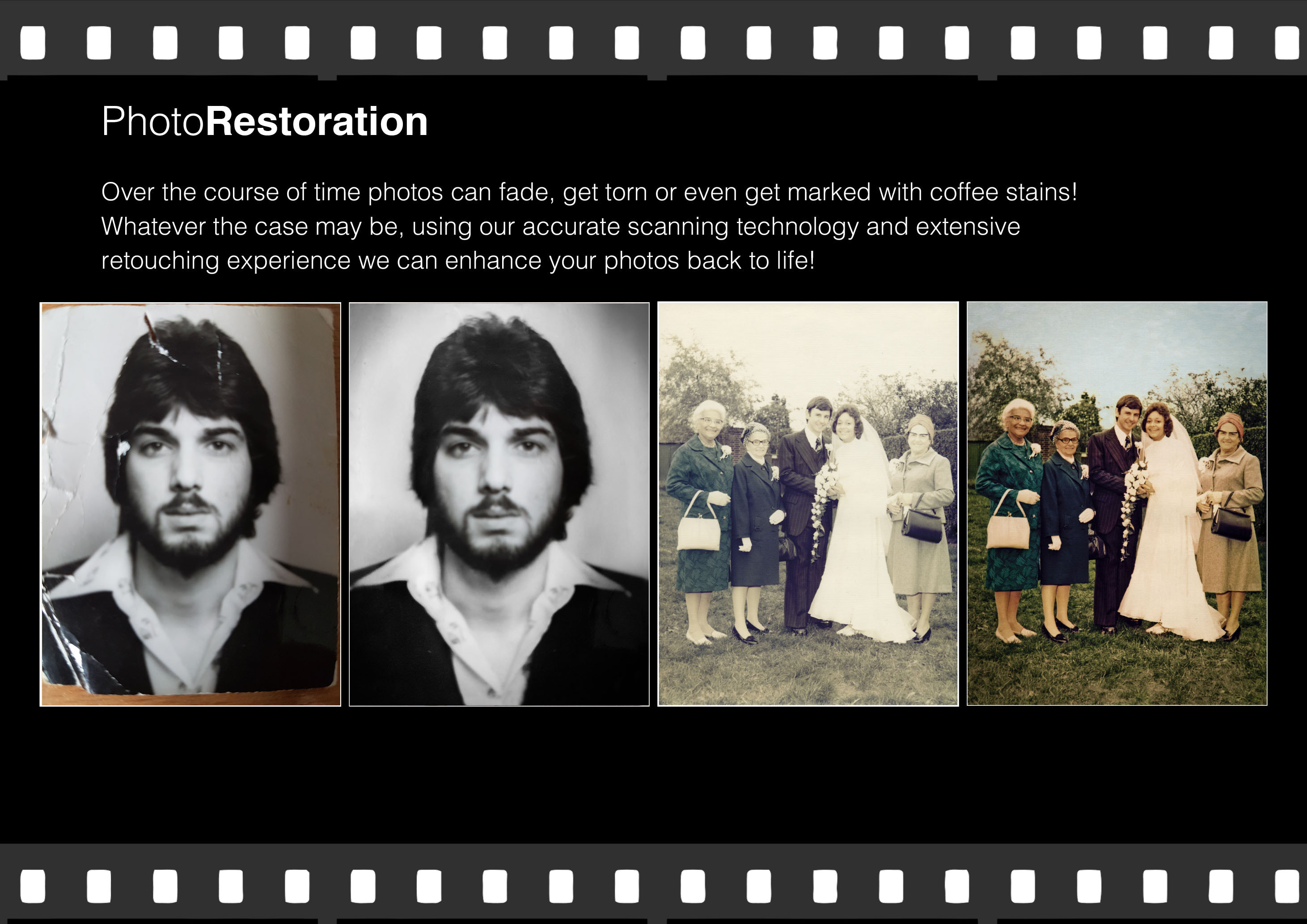 photo restoration, cambridgeshire