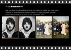 photo restoration, cambridgeshire