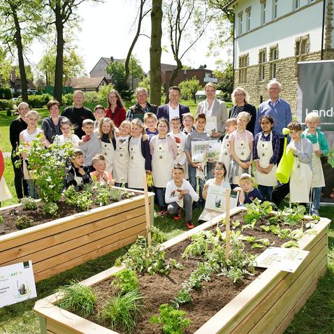 Landgard Stiftung: Unser Schulgarten