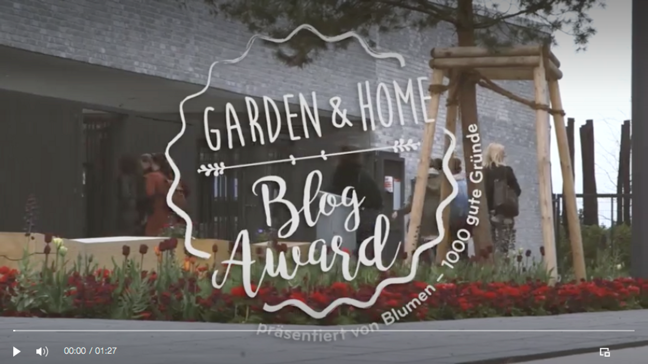 Garden & Home Blog Award 2017
