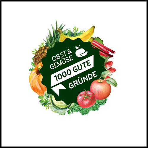 Obst & Gemüse – 1000 gute Gründe