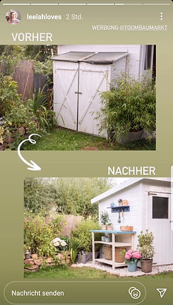 "Broschüre ""Garten"" | Story-Clipping @lee"