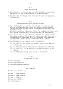 Vereinssatzung 1982-3