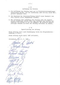 Vereinssatzung 1982-6