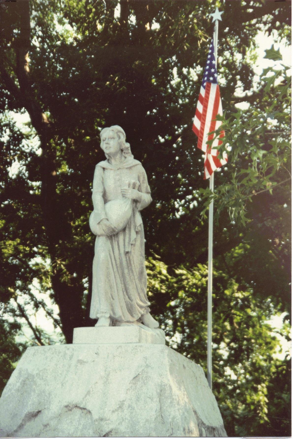 Betty Zane Monument #3