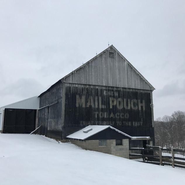 Richard and Diane Mazgaj barn, built 1880's, St. Clairsville, OH
