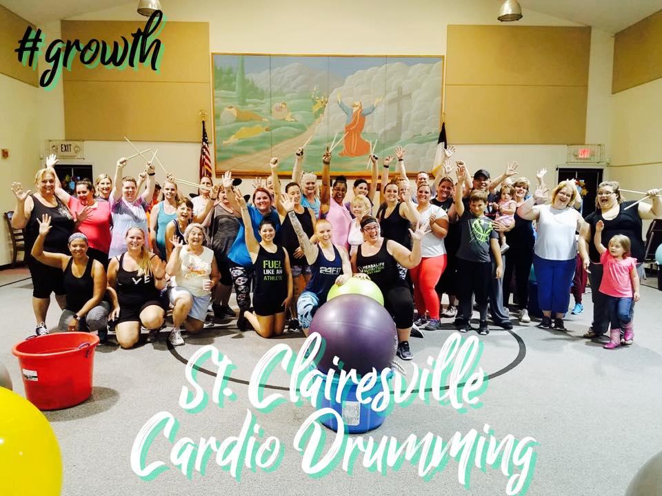 Cardio Drumming-St. Clairsville