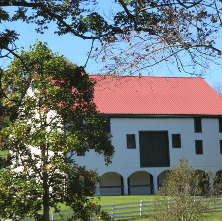 Harriet Kinder barn, built 1800's, St. Clairsville, OH