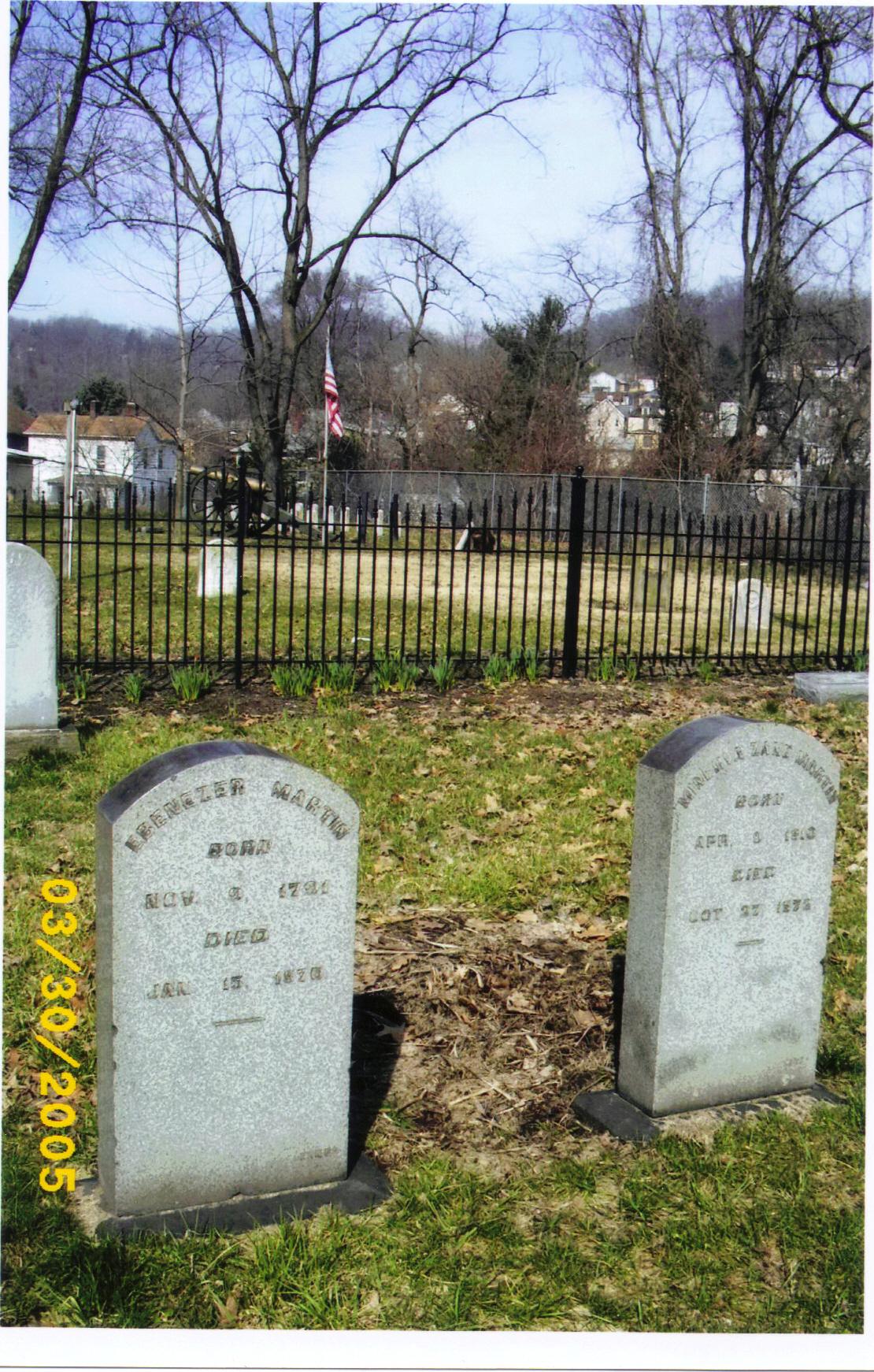 Ebenezer's monument