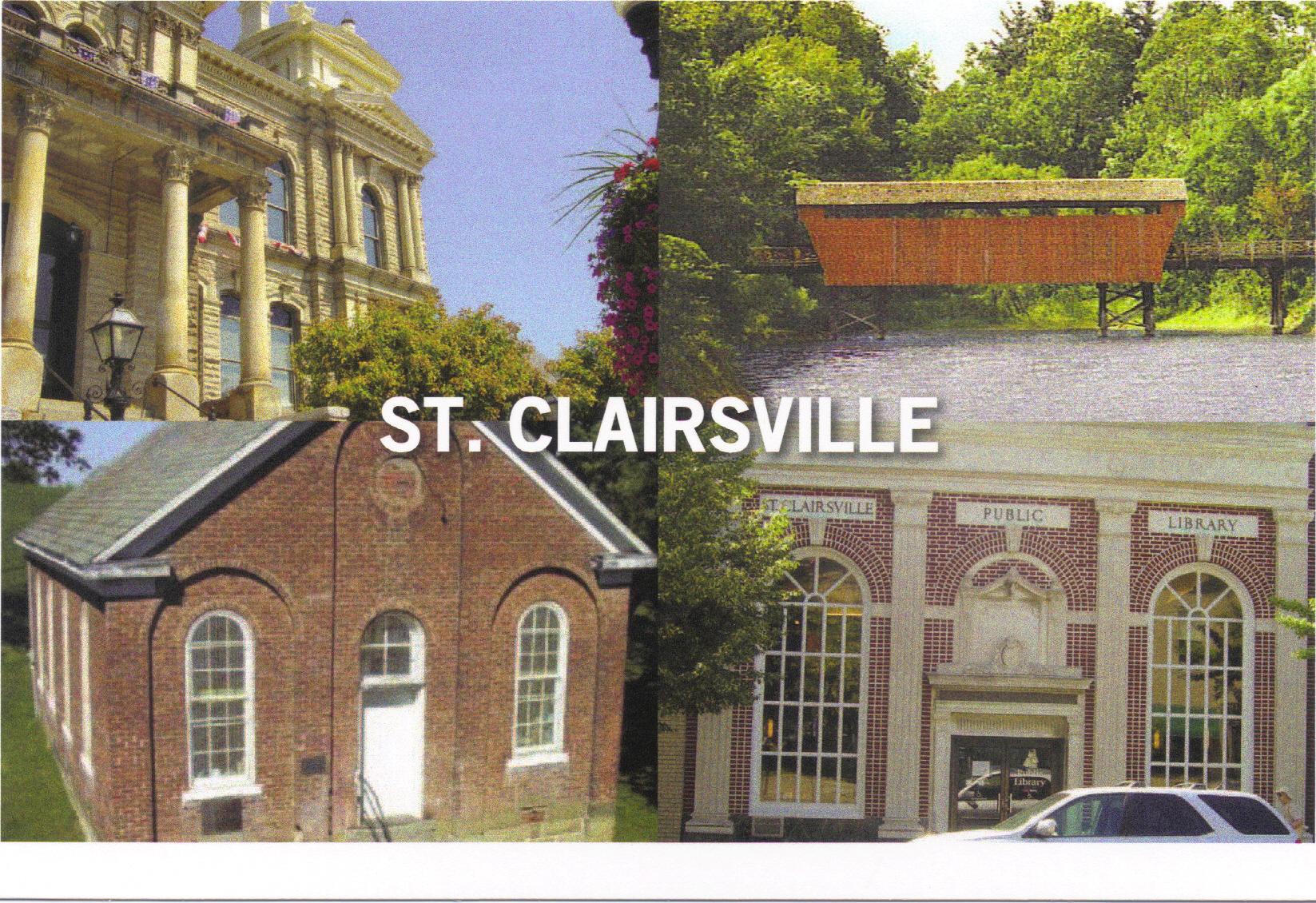 postcard -- St. Clairsville