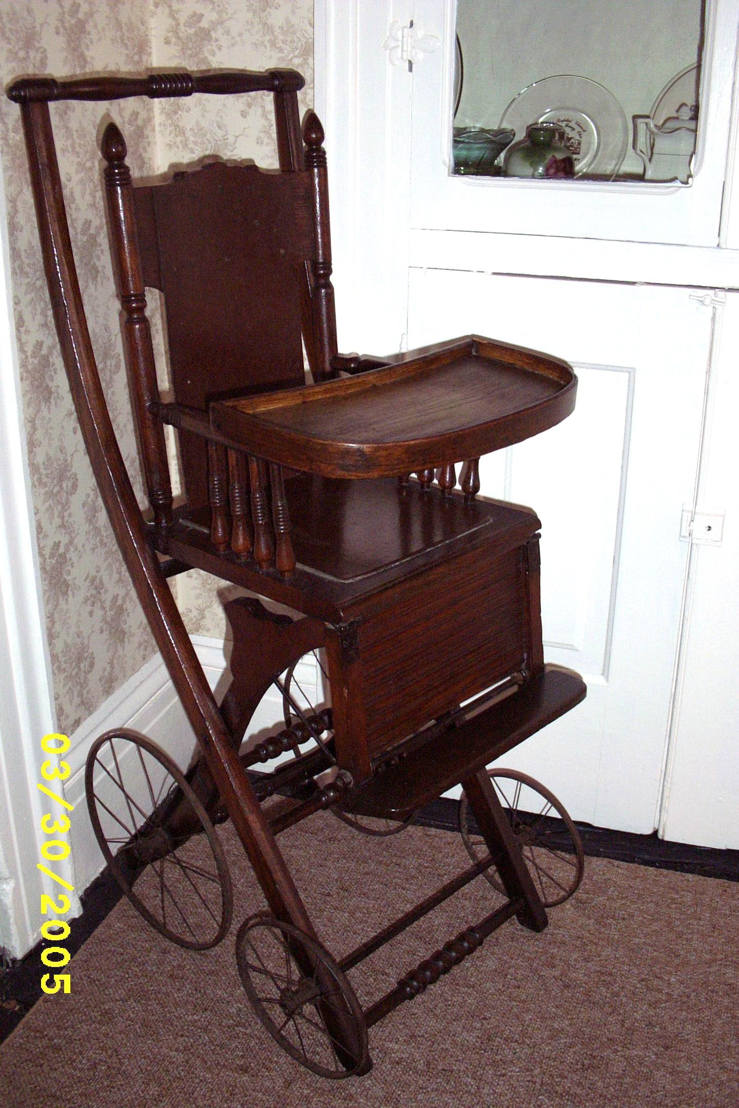 Sedgwick's highchair