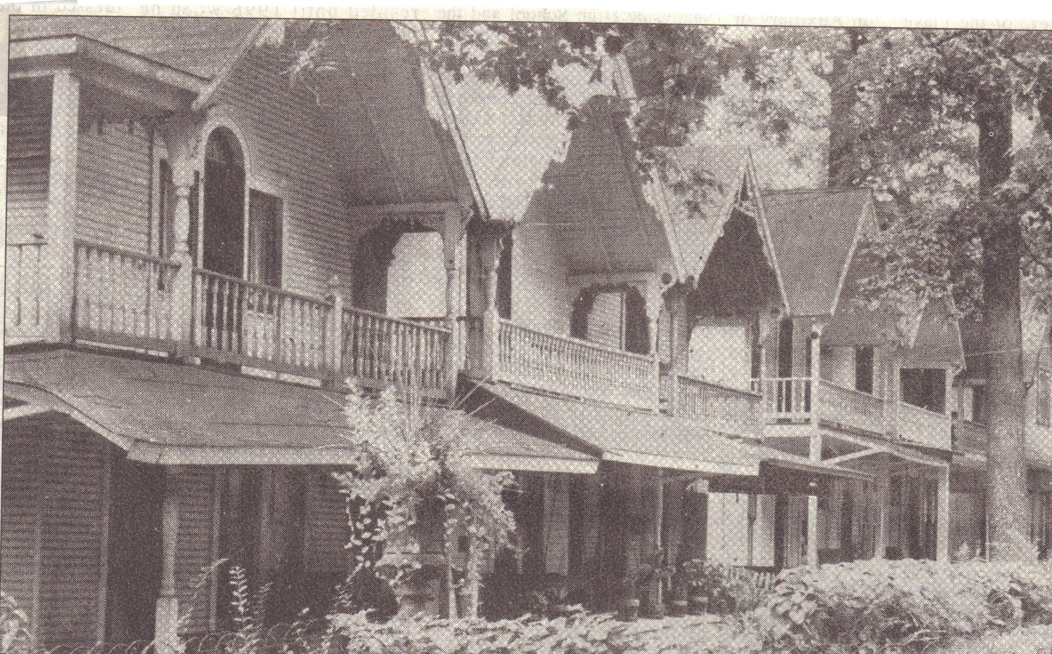 Epworth Park cottages