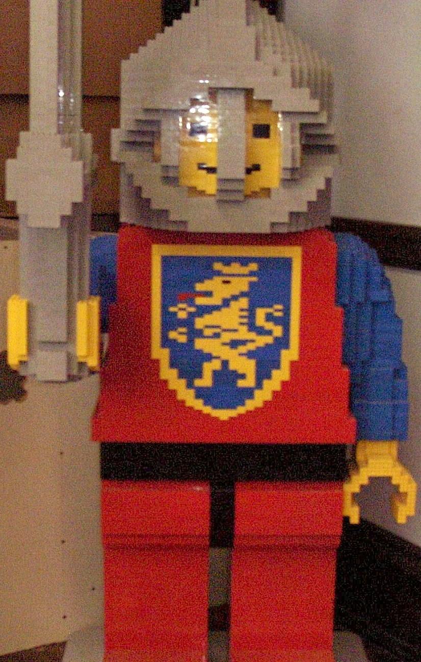Lego space man