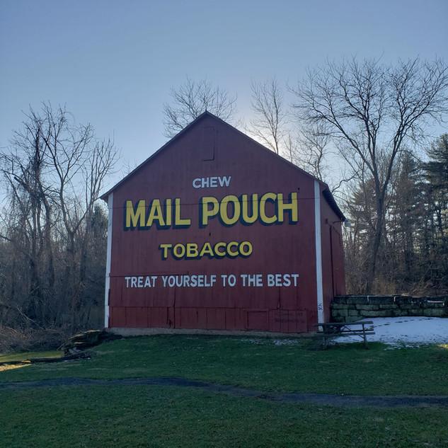 Harley Warrick Barn, Barkcamp State Park, Belmont, OH