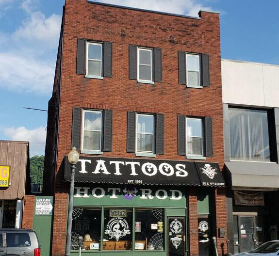 Hot Rod Tattoo Shop