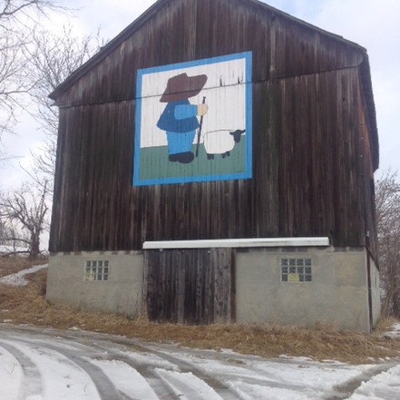 Simpson Barn, Belmont, OH