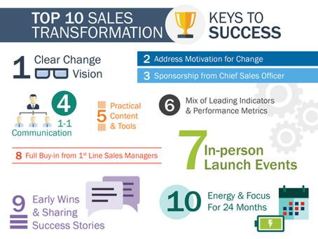 Sales Transformation Keys to Success