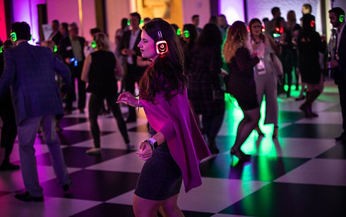 Silent Disco Event in Vancouver